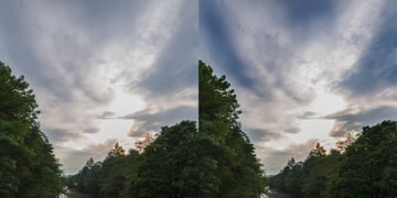 sky after burn