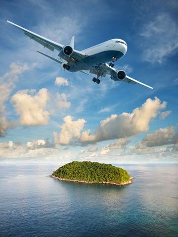 flight to paradise