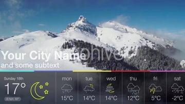 flat weather forecast