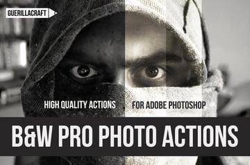 black and white pro