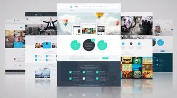 Minimal Website Presentation
