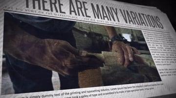 Newspaper Promo