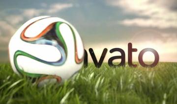 Soccer Ball Rolling Across the Field