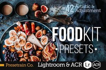 FoodKit - Food Presets for Lightroom ACR