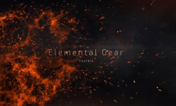 Particle Builder  Elemental Pack Fire Sand Smoke Sparkle Particular Presets
