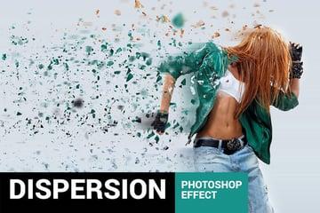Elementum - Dispersion Photoshop Action