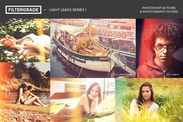 FilterGrade Light Leaks Photoshop Actions