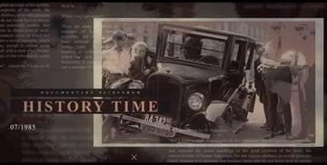 History Time Documentary Slideshow