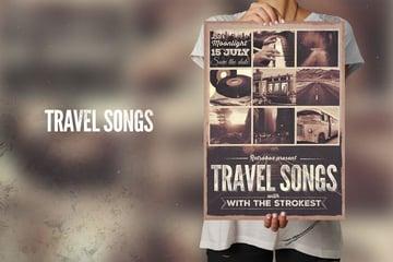 Travel Songs Flyer Poster