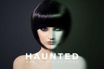 Haunted Photoshop Actions