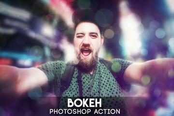 Bokeh Photoshop Action