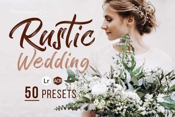 Rustic Wedding Presets for Lightroom  Photoshop