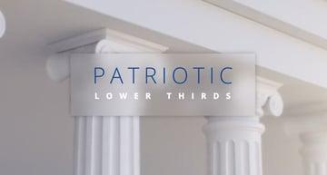 Patriotic Lower Thirds