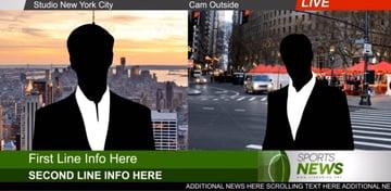 Broadcast News Essential Graphics  Mogrt