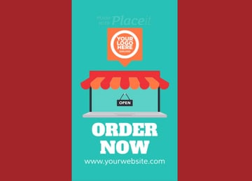 Animation Maker with Online Shopping Graphics