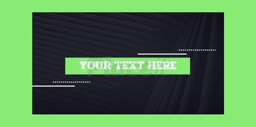 Text Animation Maker with Glitch Effect