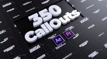 CallOuts  For Premiere Pro and After Effects
