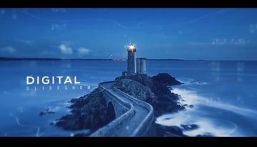 Cinematic Modern Parallax Slideshow