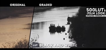Color to Black and White LUT