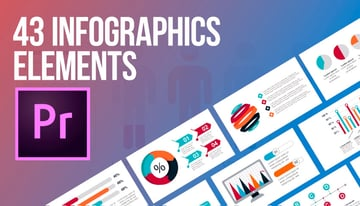 43 Infographics Elements MOGRT