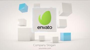 Business Cubes Dynamic Logos