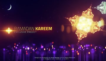Ramadan Cinematic Title Templates for After Effects