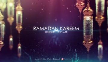 Ramadan Kareem After Effects Title Template