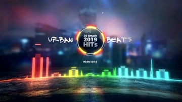 Urban Beats After Effects Audio Visualizer