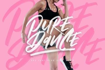Pure Dance Brush Font - Font