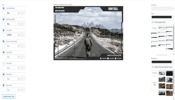 Twitch OBS Live Stream Overlay Generator with Webcam Frame
