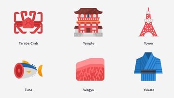 36 Japan Icons