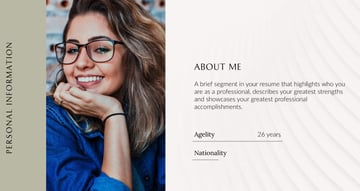 Elegant Portfolio Resume