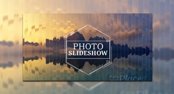 Slideshow Video Maker with Geometric Distortion Effects