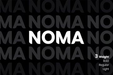 NOMA Sans Serif Font