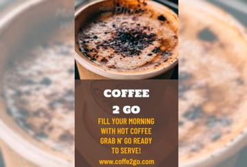 Instagram Story Video Maker for a Coffee House Promo