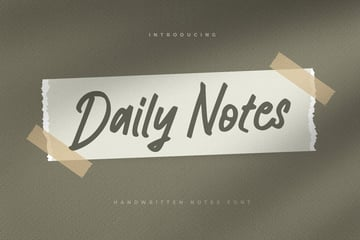 Daily Notes - from Envato Elements
