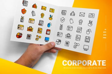 Corporate - Icons - available from Envato Elements