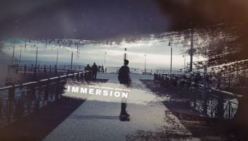 Artistic Parallax Slideshow from Envato Elements