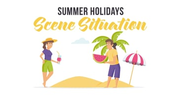 Summer Holidays - available from Envato Elements