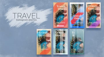 Travel Time Instagram Story - from Envato Elements