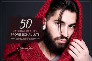50 Natural Beauty LUTs Pack