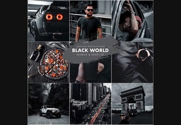 Black World Lightroom Preset
