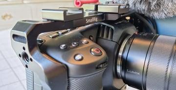 Camera cage for Blackmagic Pocket Cinema Camera 4k