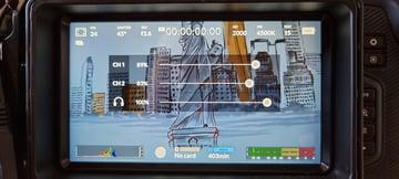 Blackmagic Pocket Cinema Camera 4k touch screen