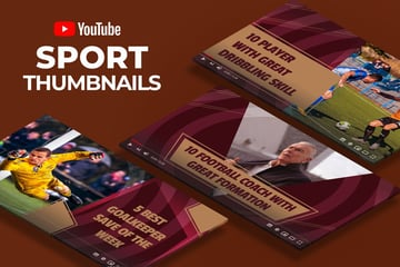 Youtube Thumbnail - Sport Videos
