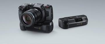 A battery grip for the Blackmagic Pocket Cinema Camera 6K Pro