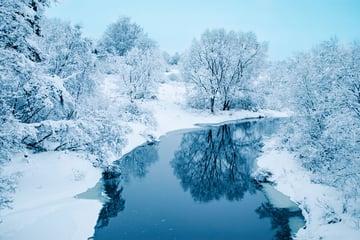 Winter snow landscape by twenty20photos - from Envato Elements