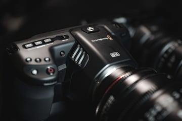 Blackmagic Pocket Cinema Camera 6K - via Unsplash