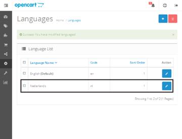 List Languages