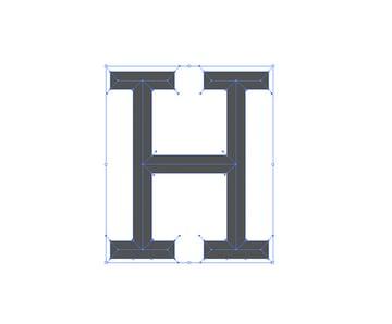 StylizingLettering-Chiseled-Dividing-Line-Segments